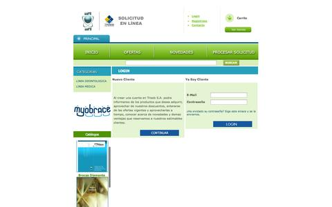 Screenshot of Login Page euroaura.org - osCommerce - captured Nov. 2, 2014