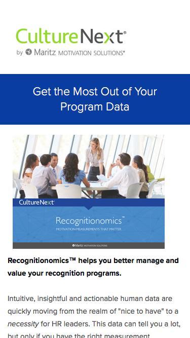 Recognitionomics