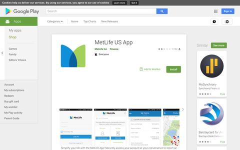 MetLife US App - Apps on Google Play