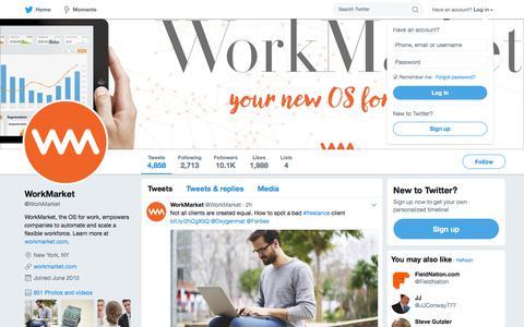 WorkMarket (@WorkMarket) | Twitter