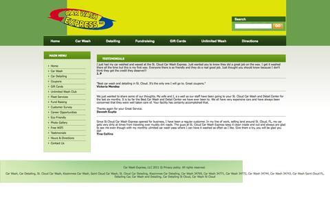 Screenshot of Testimonials Page understandclothing.com captured Sept. 30, 2014