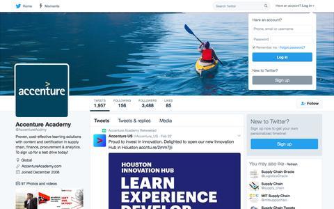 Accenture Academy (@AccentureAcdmy) | Twitter