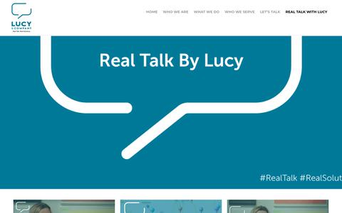 Screenshot of Blog lucycompanypr.com - Lucy & Company Blog | Lucy & Company - captured Dec. 7, 2018