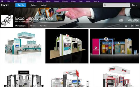 Screenshot of Flickr Page flickr.com - Flickr: Modular Exhibition Stands' Photostream - captured Oct. 22, 2014