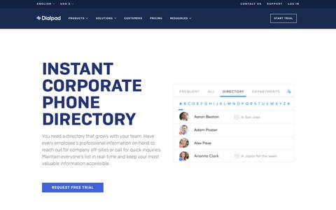 Dialpad is communications for the modern workplace.   Dialpad
