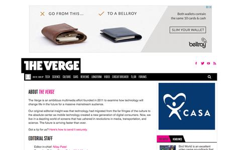 About The Verge | The Verge