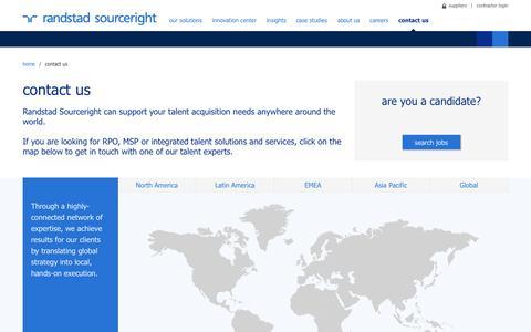 Contact Us | Randstad Sourceright