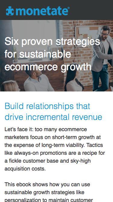 Six Ways Monetate Empowers Sustainable Growth Strategies
