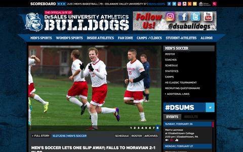 The Official Site of DeSales University Athletics Bulldogs