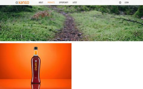 Screenshot of Products Page xango.com.au - | XANGO Australia - captured Feb. 8, 2016