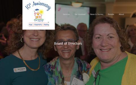 Screenshot of Team Page jwhouse.org - Leadership - JW House - captured Sept. 20, 2018