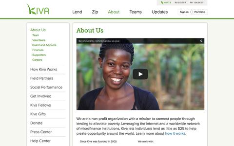 Kiva - About Us