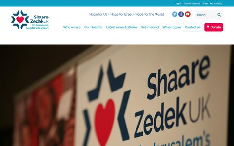 Screenshot of Team Page shaarezedek.org.uk - Shaare Zedek | Pages | Our People - captured Dec. 6, 2016