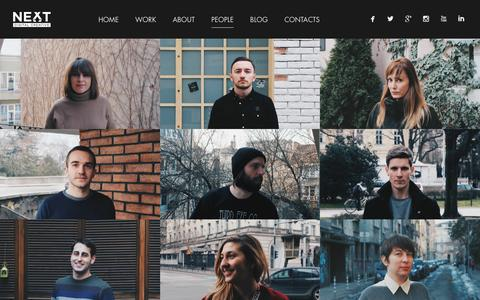 Screenshot of Team Page next-dc.com - People | NEXT-DC - captured Jan. 11, 2016
