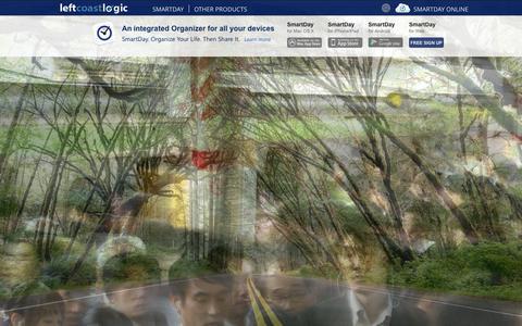 Screenshot of Home Page leftcoastlogic.com - Home - Left Coast Logic - captured Oct. 2, 2014