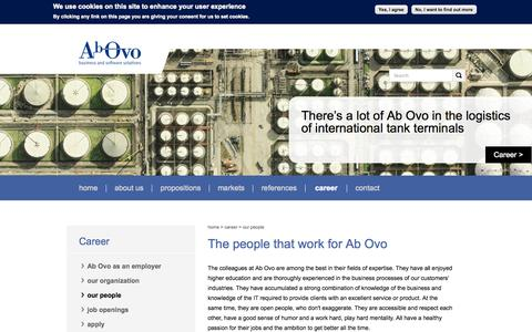 Screenshot of Team Page ab-ovo.com - The people that work for Ab Ovo | AbOvo - captured Oct. 29, 2014