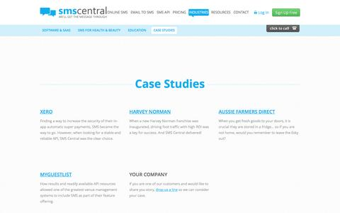 SMS Central - Our Customers