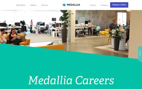Champion Customer Experience | CX Job Roles & Careers at Medallia