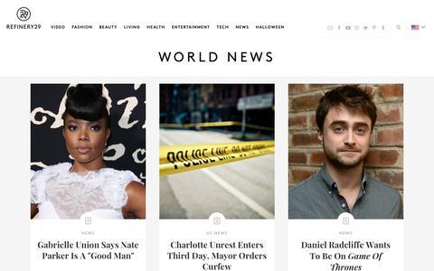 Global Current Events International News