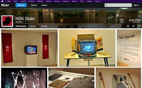 Screenshot of Flickr Page flickr.com - Flickr: NSK State's Photostream - captured Oct. 26, 2014