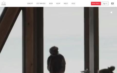 Screenshot of Home Page Login Page theskiweek.com - The Ski Week - captured Dec. 24, 2015