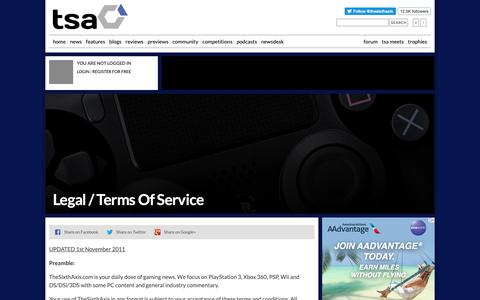 Screenshot of About Page thesixthaxis.com - Video Gaming News & Reviews at TheSixthAxis - captured Nov. 13, 2018