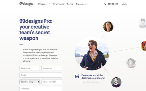 Outsource Your Graphic Design Jobs & Projects   99design