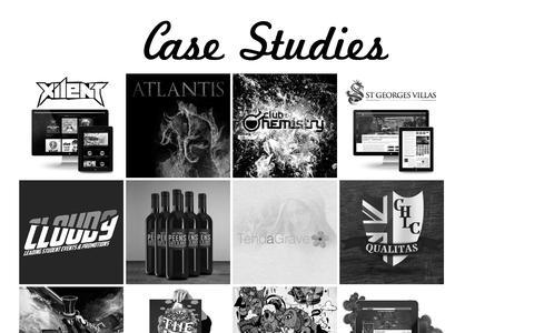 Screenshot of Case Studies Page imaginativecows.com - Imaginative Cows - A Creative Agency - captured Sept. 30, 2014