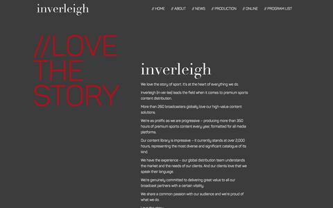 Screenshot of About Page inverleigh.com - About Us – Inverleigh - captured Oct. 12, 2018