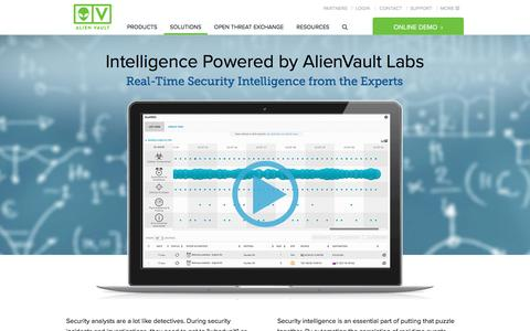IT Security Intelligence | AlienVault
