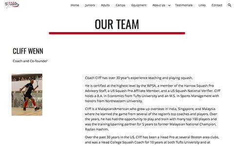 Screenshot of Team Page google.com - Our Team - captured June 28, 2018