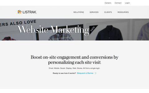 Website Marketing for Merchandising and Conversions   Listrak