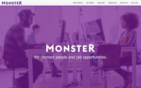 About us | Monster.com