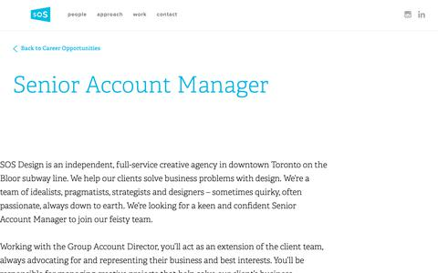 Screenshot of Jobs Page hellosos.com - Social Media & Account Manager - captured Oct. 21, 2018