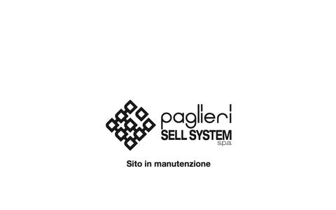 Screenshot of Home Page paglierisellsystem.com - Paglieri Sell System - captured Sept. 27, 2015