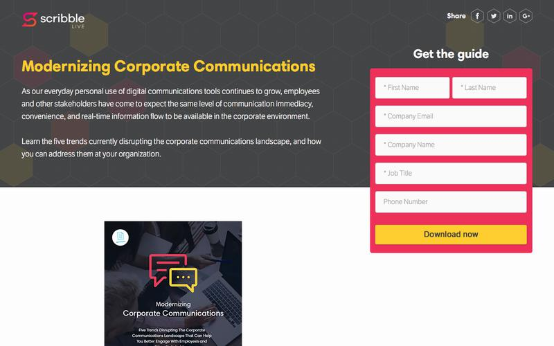 Modernizing Corporate Communications