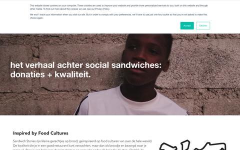 Screenshot of Team Page dehofvaneden.nl - Social Sandwiches: voor elke lunch geven wij een maaltijd | deHofvanEden - captured Oct. 8, 2018