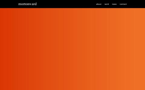 Screenshot of Home Page mortonward.co.uk - Morton Ward | Edinburgh design agency - captured Jan. 10, 2016