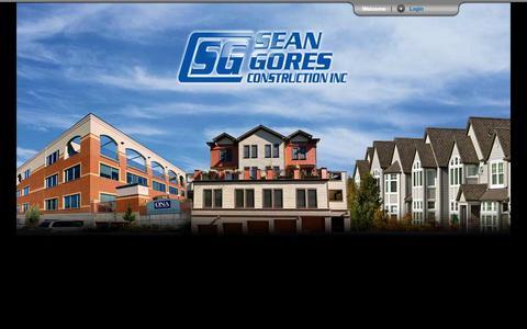 Screenshot of Login Page sgores.com - SGC_login - captured Oct. 4, 2014