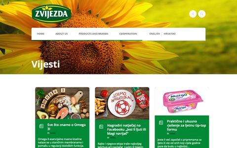 Screenshot of Press Page zvijezda.hr - Vijesti - Zvijezda - captured Oct. 21, 2018