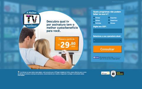 Screenshot of Home Page a-melhor-tv-por-assinatura.com - A melhor tv por assinatura - captured Sept. 22, 2014