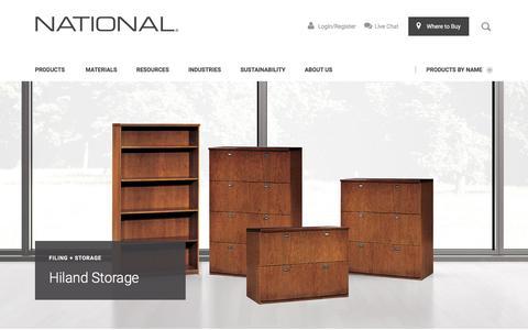 Hiland Storage | National Office Furniture