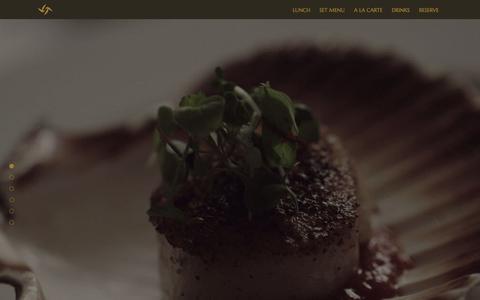 Screenshot of Menu Page tamarindrestaurant.com - Menu | Tamarind of Mayfair - captured March 7, 2016
