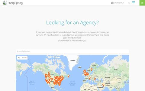 Looking for an Agency? | SharpSpring