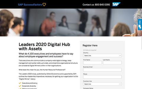 Leaders 2020 Digital Hub with Assets