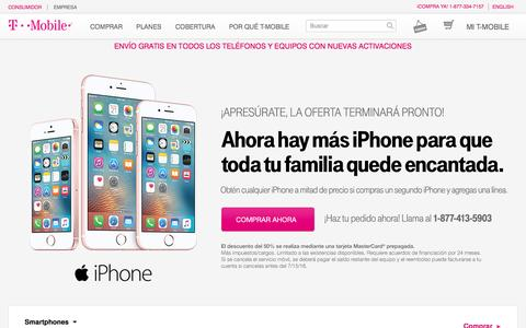 Teléfonos móviles 4G | Celulares iPhone y Android | T-Mobile