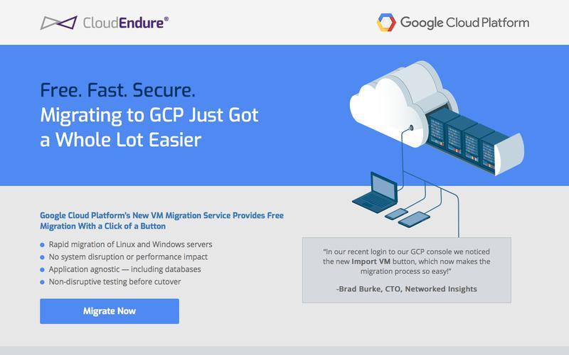 CloudEndure - Free. Fast. Secure.