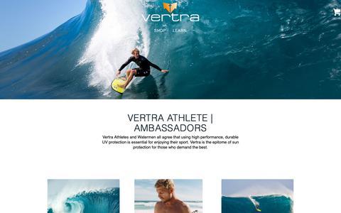 Screenshot of Team Page vertra.com - Team - Vertra - captured March 31, 2019