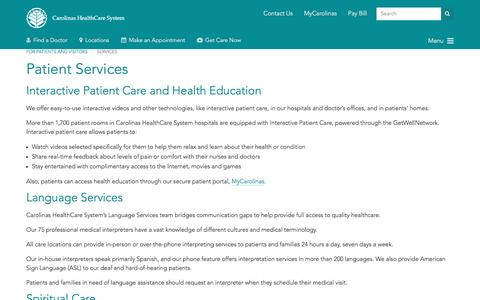 Healthcare & Medical pages | Website Inspiration and