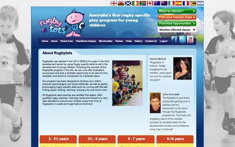 Screenshot of About Page rugbytots.com.au - Rugbytots - About Us - Rugbytots - captured Oct. 7, 2014
